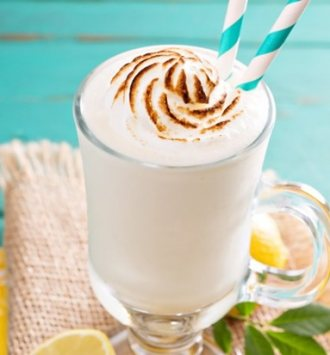 Clover Classic Coconut Lemon Meringue Smoothie