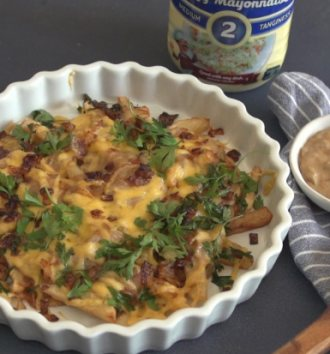 Clover Classic Mayonnaise Poutine