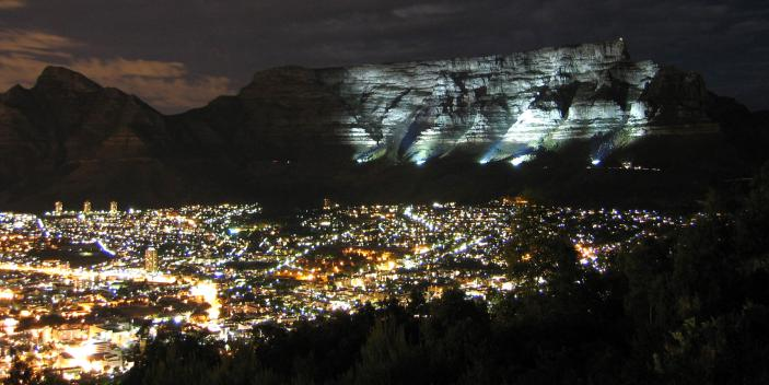 Table Mountain Earth Hour